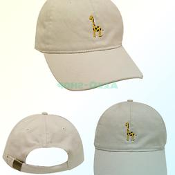 City Hunter C104 Giraffe Cotton Baseball Dad Caps 16 Colors