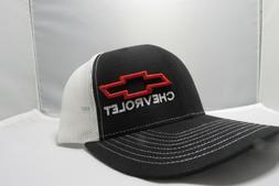 Richardson Chevrolet Logo Snapback Hat, Trucker Cap for Men