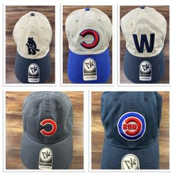 chicago cubs 47 brand cap clean up