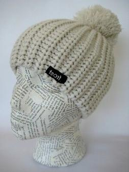 Chunky Knit Winter Hat for Girls