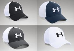 Under Armour Classic Mesh Stretch Fit Cap  Lightweight Hat -