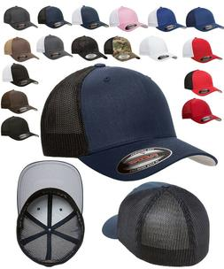 FLEXFIT Classic Original TRUCKER 6-Panel Fitted Baseball Cap