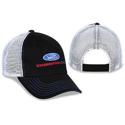 Ford Performance Cotton, Polyester, Black, White Mesh Hat Em