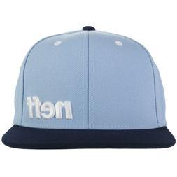 Neff Daily Snapback Baseball Cap Hat Men OS Blue NWT NEW Ska