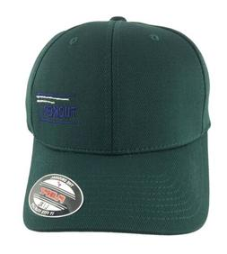 Dark Green Ball Cap Hat Tucker Logo Flexfit NEW