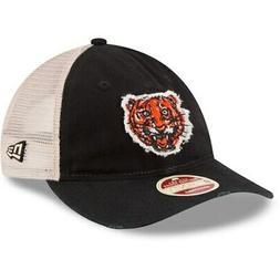 New Era Detroit Tigers Black Frayed Twill Trucker 9TWENTY Ad