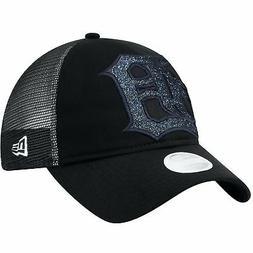 Detroit Tigers Hat Shined Up Trucker Women's Adjustable Snap