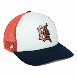 Detroit Tigers MLB Women's Glimmer Captain Trucker Team Cap