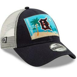 Detroit Tigers New Era Patched Trucker 3 9FORTY Adjustable S