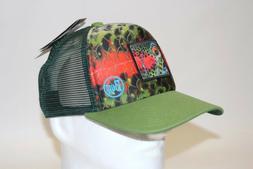 Buff DeYoung Artist Trucker Mesh Cap Snap back Hat in Rainbo