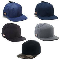 Dickies Snapback Cap Choose Your Color Baseball Adult Cap Ac