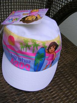 """Dora the Explorer  """"Surfer Girl"""" GIRL'S CADET/BASEBALL HAT A"""