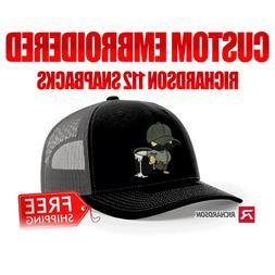 Embroidered Richardson 112 snapback hats Custom hats wholesa