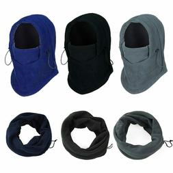 Face Mask Hats Soft Fleece Bike Windproof Woman Men's Headdr