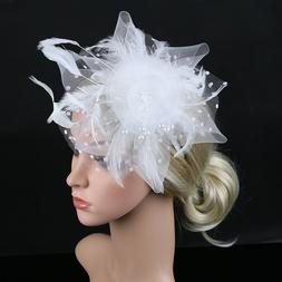 Fascinator Hat Cocktail Tea Party Headband Fashion Women Hai