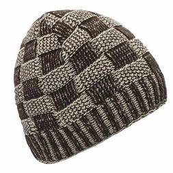 Fashion Skullies Beanies Men's Winter Hat Knitted Ski Hats W