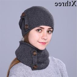 Xthree fashion winter <font><b>hat</b></font> for women and