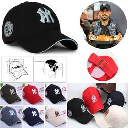 Blue Womens Girls NY New York Yankees Hats Sports Baseball C