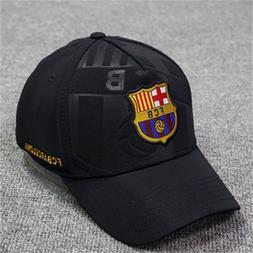 Fc Barcelona Soccer Club Unisex Adjustable <font><b>Snapback