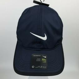 NIKE Featherlight Tennis Running Hat Cap Dri-Fit Adjustable
