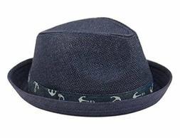 Fedora Hat for Boy Girl Toddler Kid Nautical Theme Adjustabl