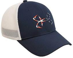 Under Armour Fish Hook Hat - Moroccan Blue / White / America