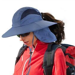 Fishing Hats UV Sun Protection Unisex Wide Brim Boonie Hat R