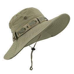 LETHMIK Fishing Sun Boonie Hat Waterproof Summer UV Protecti