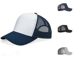Mega Cap Five Panel PET Mesh Back Trucker 6886 Mesh Baseball