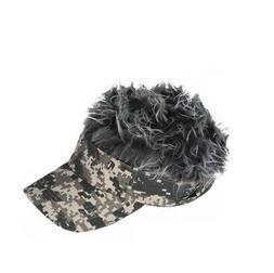 Flair Hair Men's Velcro Hat Cap Visor