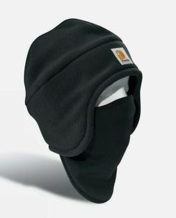 Carhartt Men's Fleece 2-In-1 Headwear,Moss,One Size