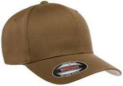 Flexfit® Coyote Brown Fitted Hat or Adjustable Cap For Men