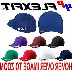 Flexfit Hat Ultra Fiber Baseball Cap Air Mesh Sides Fitted T