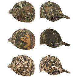 FLEXFIT Mossy Oak Infinity Camo Hats NEW Fitted Camouflage C