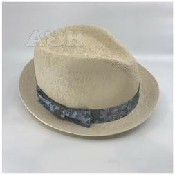 Epoch Floral Paisley Summer Lightweight Derby Fedora Upturn