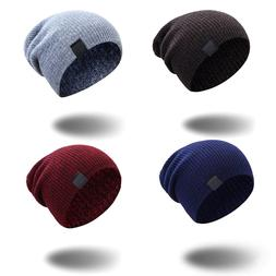 <font><b>Knitted</b></font> Beanies For Women Slouchy Skulli