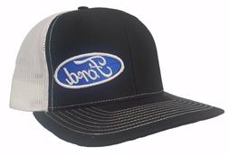 Richardson Ford Logo Snapback Hat, Trucker Cap for Men and W