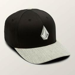 Volcom Full Stone XFit® Flexfit® Baseball Cap Hat Storm OS