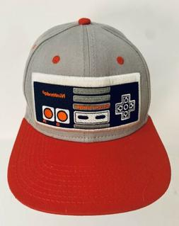 Nintendo GAME CONTROLLER Novelty Black Snapback Baseball Hat