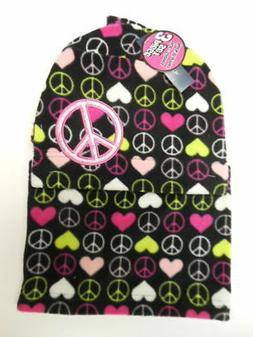 Girls neck warmer Sock hats Scarves Clothes Outerwear 3 pc F