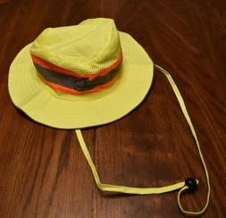 a5bb1413b2cf7 Ergodyne GLOWEAR 8935 Hi-Vis Ranger Hat Lime LARGE L XL NEW