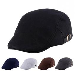 Golf Driving Flat Sun Cap Classic <font><b>Hats</b></font> M