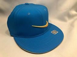 NIKE GOLF TRUE TOUR MEN'S BLUE STRETCH FIT SIZE S/M HAT CAP