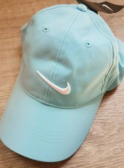 Nike Golf Womens Aqua Blue Dri Fit Running Workout Cap Hat N