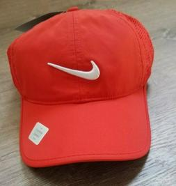 Nike Golf Womens Orange Breathable Mesh Dri Fit Running Work
