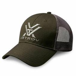Vortex Optics Green and Grey Mesh Baseball Cap