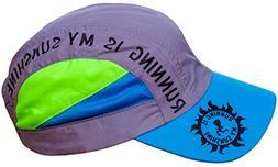 RUNNING IS MY SUNSHINE Hat - Running Race Day Cap, Premium U