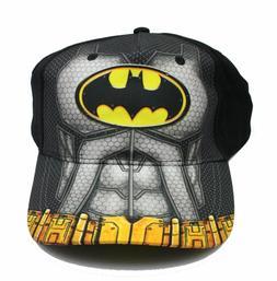 Hat Cap Youth Boys Batman Logo Figure Baseball Snapback NWT