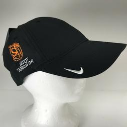 Nike Golf Hat Total Rewards Black Adjustable Strap Back Hook