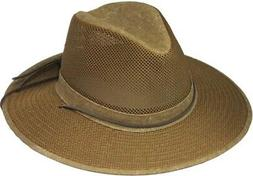 Henschel Hats Aussie Breezer Earth Men's Sun Hat Size X-Larg